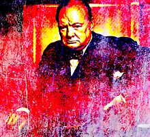 Winston Churchill by John Novis