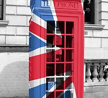 Union Jack Phonebox by pda1986