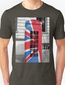 Union Jack Phonebox T-Shirt