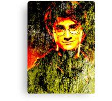 Daniel Radcliffe as Harry Potter Canvas Print
