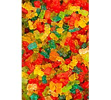 Colorful jelly bears Photographic Print