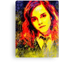 Emma Watson as Hermione Granger Canvas Print