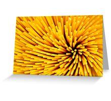 Spaghetti, italian food Greeting Card