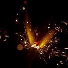 Sparkler Macro photography by SteveHphotos