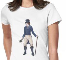 Sir Aubrey Granthorpe - Regency Fashion Illustration Womens Fitted T-Shirt