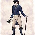 Sir Aubrey Granthorpe - Regency Fashion Illustration by Shakoriel