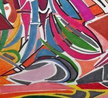 Cesar Manrique Moments Sticker