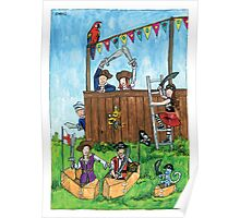 KMAY Hoodkid Pirates Play Poster