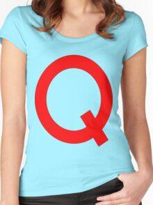 Quailman Shirt | By Douglas FRESH (AKA Doug Funny) Women's Fitted Scoop T-Shirt