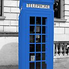 Blue Phonebox  by pda1986