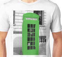Green Phonebox Unisex T-Shirt