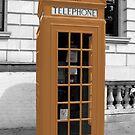 Orange Phonebox by pda1986