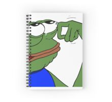 RARE Pepe the frog - Notebooks Spiral Notebook