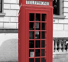 Red Phonebox by pda1986