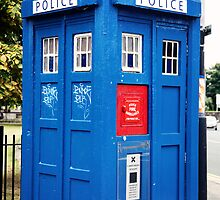 Police Call Box by anniemgo