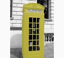 Yellow Phonebox Unisex T-Shirt