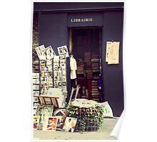 Paris Books Poster