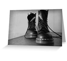 Dr. Martens Greeting Card