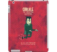 The Christmas Vampire iPad Case/Skin