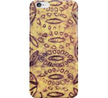 Hand batiked image iphone case iPhone Case/Skin