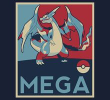Obama style Mega Charizard by 0nTh3R0ad