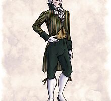 The Earl of Mooresholm - Regency Fashion Illustration by Shakoriel