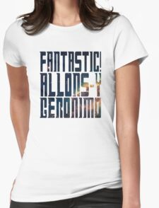Doctor Who catchphrases - Nebula Womens Fitted T-Shirt