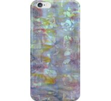 Original batik by Pitney Hemp and Design  iPhone Case/Skin