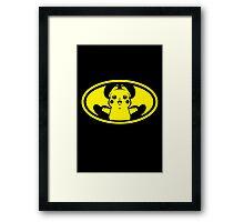 Pika Bat Framed Print