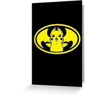 Pika Bat Greeting Card