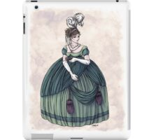 Viscountess Garvestone - Regency Fashion Illustration iPad Case/Skin