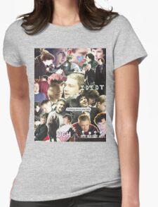 sherlock & john Womens Fitted T-Shirt