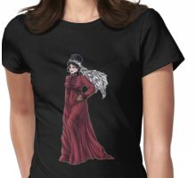 Miss Valeria Fulbourn - Regency Fashion Illustration Womens Fitted T-Shirt