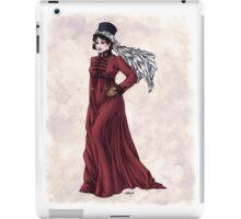 Miss Valeria Fulbourn - Regency Fashion Illustration iPad Case/Skin