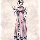 Lady Tabitha Newick - Regency Fashion Illustration by Shakoriel