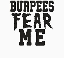Burpees Fear Me Mens V-Neck T-Shirt