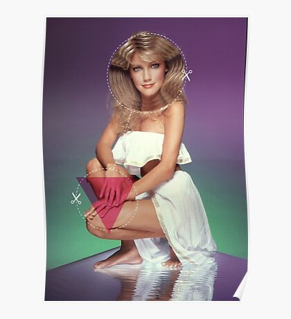 Heather Locklear Cutout Poster