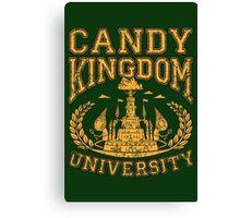 Candy Kingdom University Canvas Print