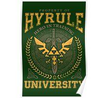 Hyrule University Poster