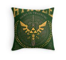 Hyrule University Throw Pillow