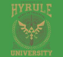 Hyrule University One Piece - Short Sleeve