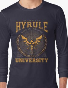 Hyrule University Long Sleeve T-Shirt