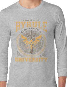 Hyrule University Long Sleeve T-Shirt