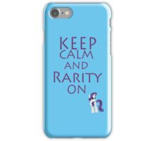 Rarity On iPhone Case/Skin