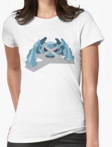 Cutout Metagross Womens Fitted T-Shirt