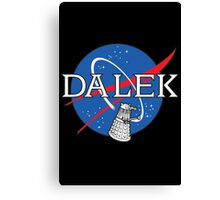 Dalek Space Program Canvas Print