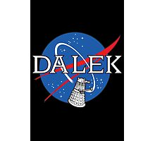 Dalek Space Program Photographic Print