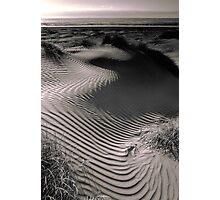 Coastal Sand Dune (duotone) Photographic Print