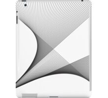 spatial distortion iPad Case/Skin