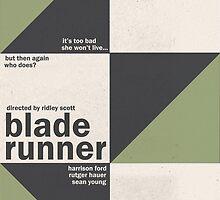 Blade Runner - Minimal by Nessart94